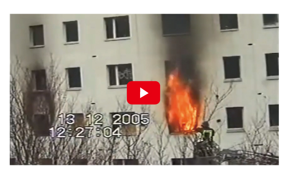 アルセコ外断熱 ミネラルウール火災実験動画